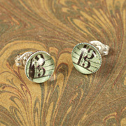 Alto Clef Earrings - Violist Jewellery